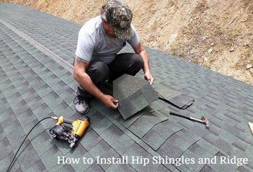 Ridge Installation