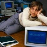 Rare fotos of Bill Gates