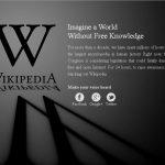 Wikipedia Goes Black in Protest of SOPA