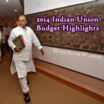 2014 Indian Union Budget Highlights