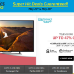Flipkart's Electronics Sale – Deals on Mobiles, Home Appliances, Tablets + Extra 10% OFF on Axis Bank Cards