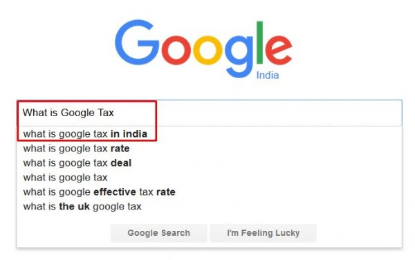 Google tax in India