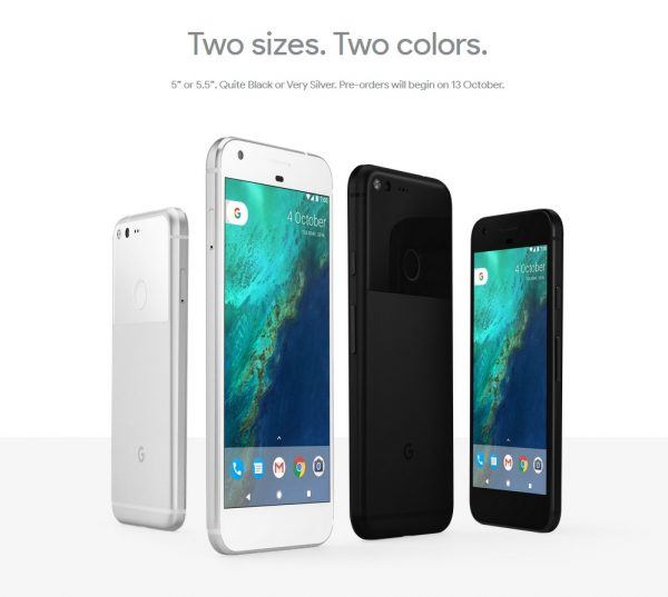 google-pixel-mobile-specifications