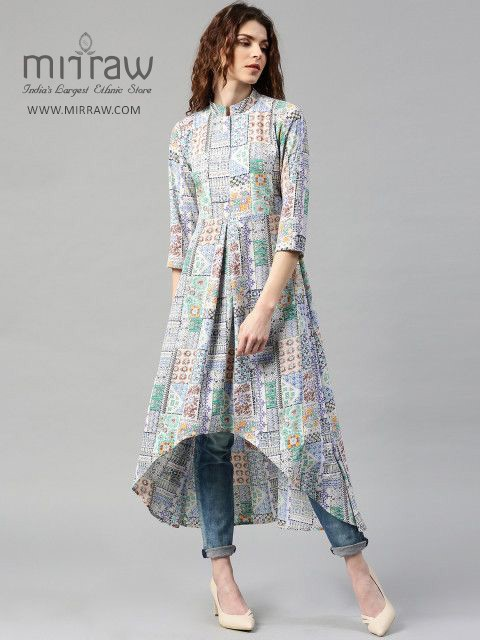t shirt style kurti