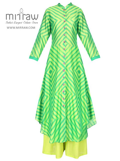 Bouncy and Flared Nature Kurtis