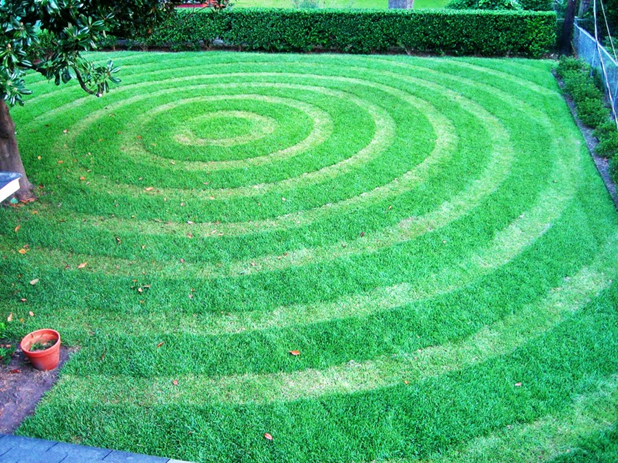 Lawn Art with Grassffiti Machines