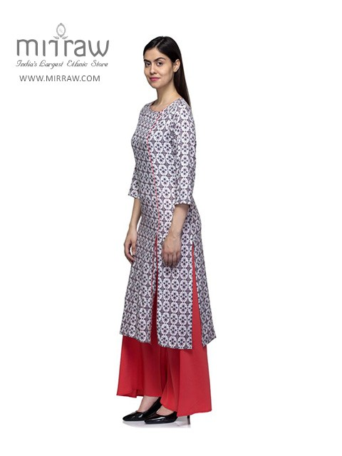 Multiple Slit Kurtis