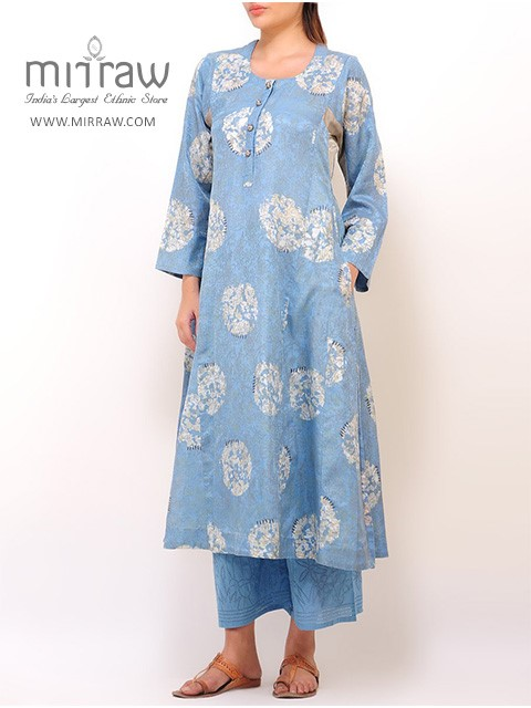 Nature Inspired Printed Kurta