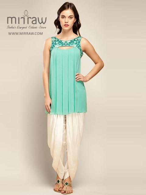 Royal Colors Dhoti Style Kurtis