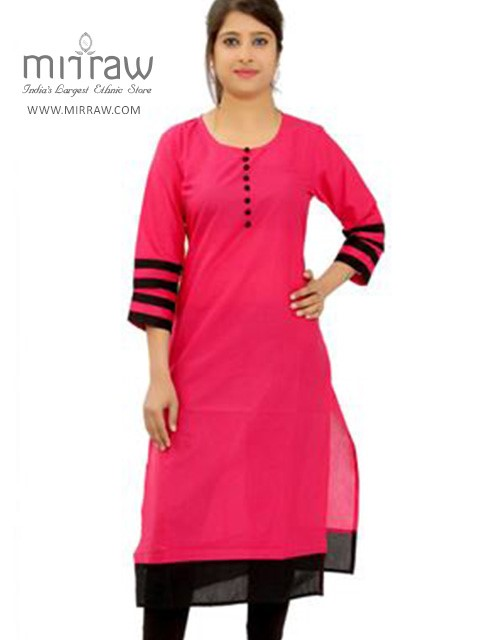 Solid Colored Kurtis