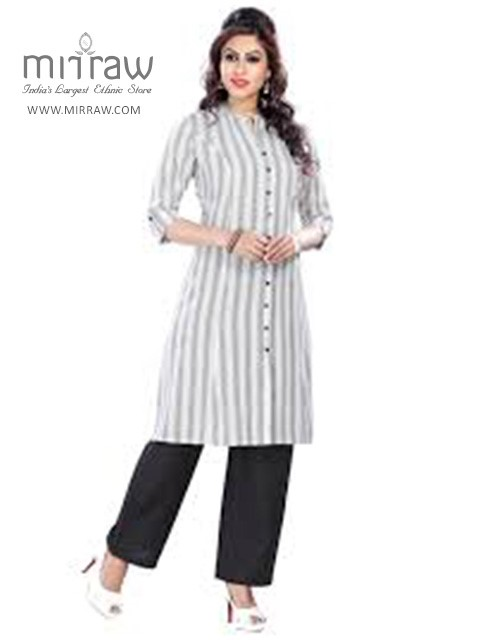 Vivacious Long Straight Kurtis