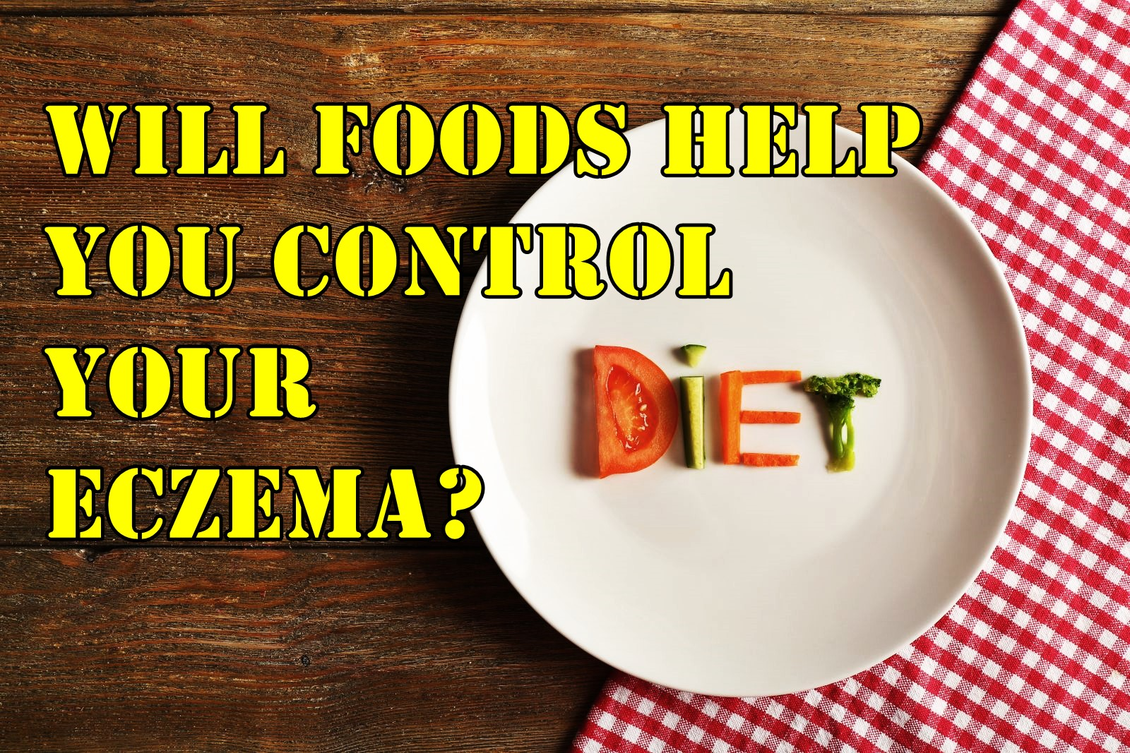 eczema and diet  will foods help you control your eczema