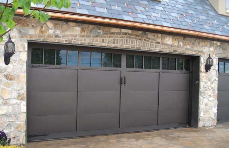 Garage With Strong Door