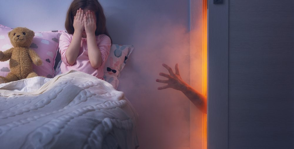 What to do about night terrors in children