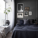 Rules To Remember When You Want Dark Walls in a Small Apartment