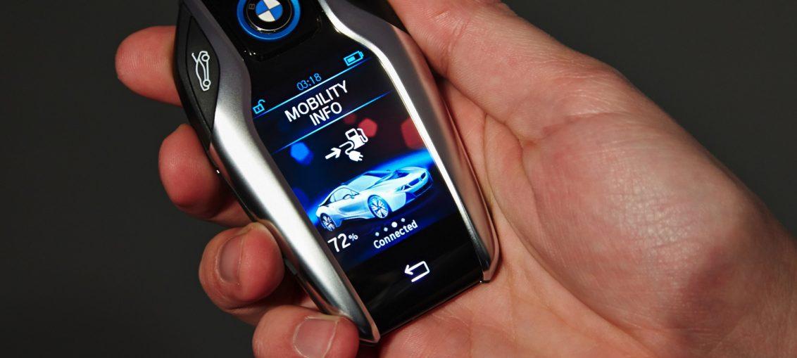 New Touchscreen Car Keys