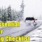The Essential Winter Driving Checklist
