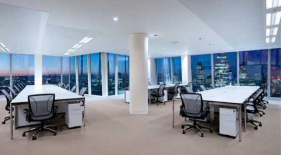 serviced office space in London